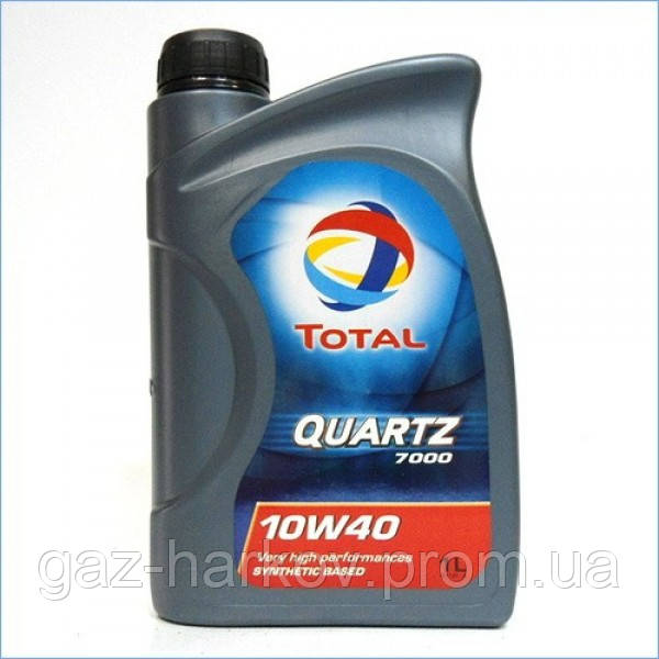 Полусинтетическое моторное масло TOTAL QUARTZ 7000 10W-40 (1)