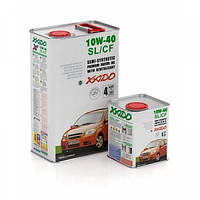 Полусинтетическое моторное масло Xado 10W-40 SL/CF (1)