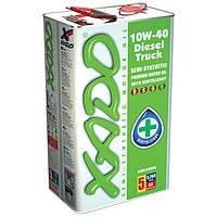 Полусинтетическое моторное масло Xado Disel Trusk 10w-40 (5)