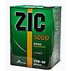 Полусинтетическое моторное масло ZIC 5000 SAE 10W40 CG/4SH (4)