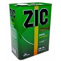 Полусинтетическое моторное масло ZIC 5000 Diesel 5w-30 (6)