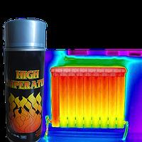 Термокраска  термо-кремниевая эмаль