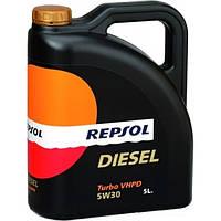 Синтетическое моторное масло Repsol Diesel Turbo VHPD 5W-30 (208)