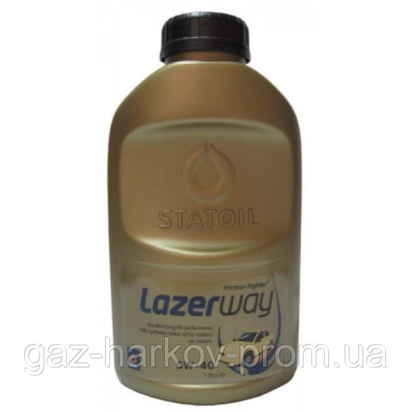 Синтетическое моторное масло LAZERWAY 5W-40 (1)