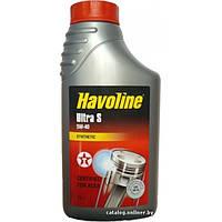 Синтетическое моторное масло Texaco HAVOLINE Ultra 5W-40 (1)