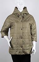 Куртка демисезонная оливковая Modern New Saga B8355