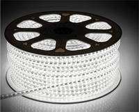 Светодиодная лента LED 3528 W Бухта 100м  белые диоды