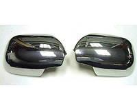Хром накладки на зеркала на Лексус GX-470 (хром пластик) Китай.