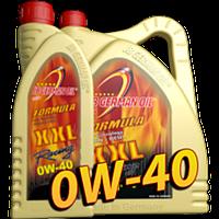 Синтетическое моторное масло Formula XXL, SAE 0W-40 4л
