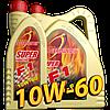 Синтетическое моторное масло Super F1 Plus Racing SAE10W-60 4л