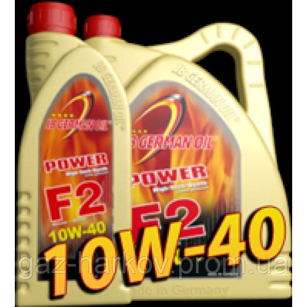 Полусинтетическое моторное масло Power F2 SAE 10W-40 1л