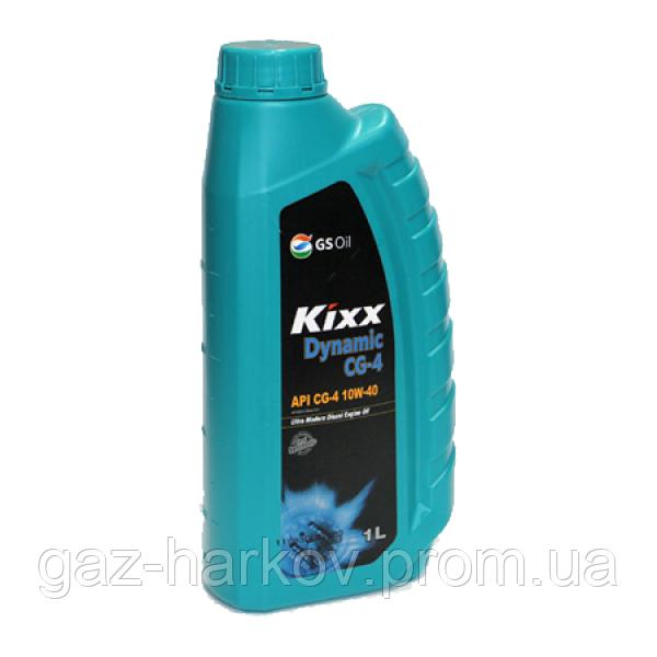 Полусинтетическое моторное масло KIXX DYNAMIC CG-4 10W-40 (1л)