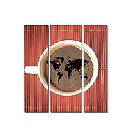 "Модульная картина 530х480 ""Мир кофе"""
