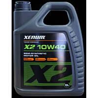 X2 10w40 semi-synthetic motor oil (1л)