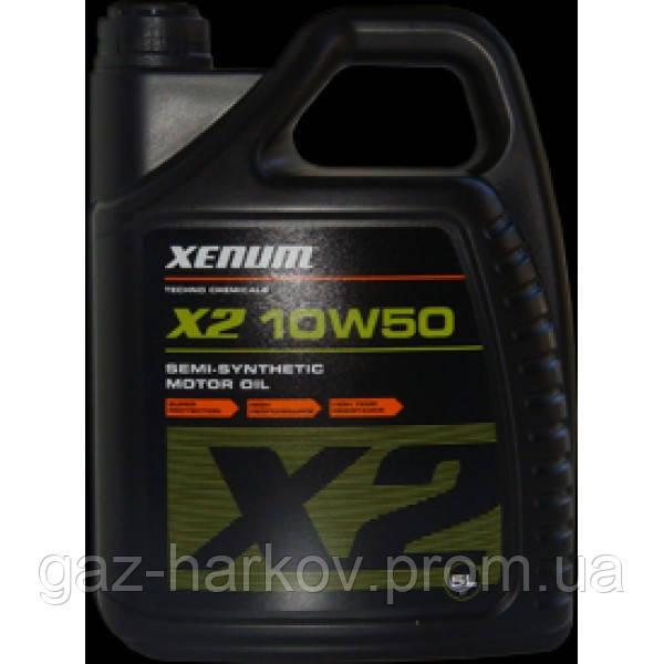 X2 10w50 semi-synthetic motor oil (5л)