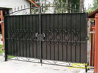 Ворота распашные. Калитки. Изготовление ворот в Севастополе