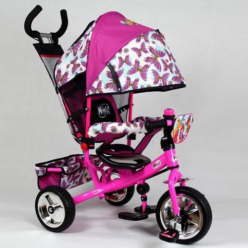 Детский трехколесный велосипед Turbo Trike Winx 0102 Винкс