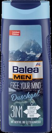 Balea Men Bath гель для душа 3в1 Free your mind, 300мл