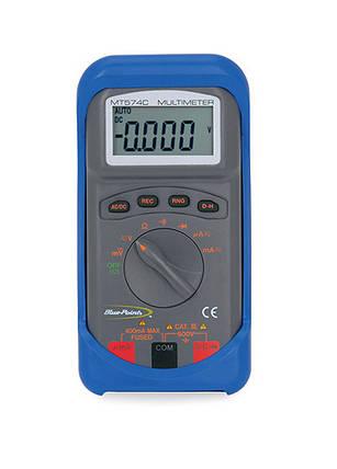 Мультиметр, цифровой, компактный, автонастройка, Snap-on, MT574C, фото 2