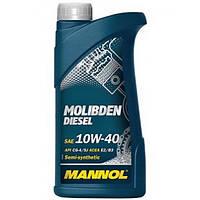 Полусинтетическое моторное масло MANNOL MOLIBDEN DIESEL 10W-40 (1)