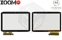 Touchscreen (сенсорный экран) для Motorola MZ616 XOOM2, оригинальный (черный)