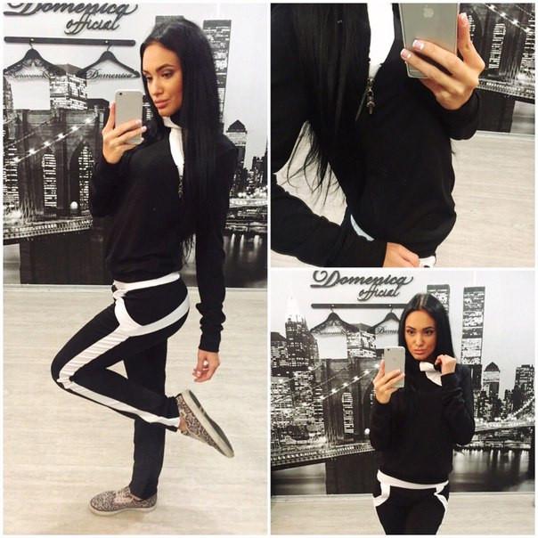 a518e42d6980 Купить женский стильный спортивный костюм t-3105105 недорого в ...