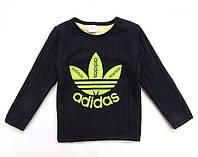 Теплая кофта Adidas унисекс. 100, 110, 120, 130 см