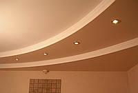 Устройство потолка из ГКЛ под уклон