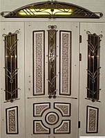 """Входная дверь """"Портала Эксклюзив"""" (3-D, патина) ― модель BIG-10, фото 1"""