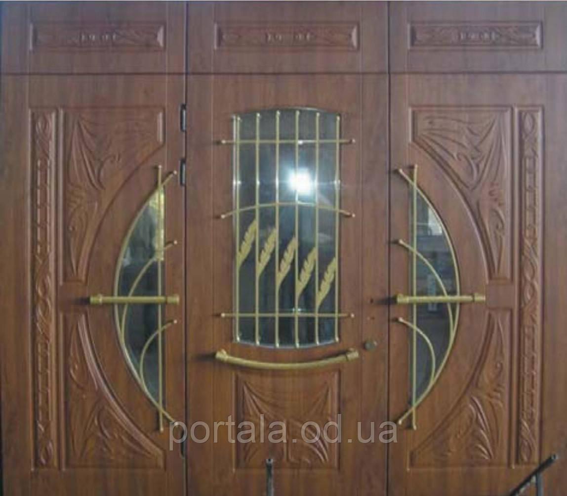 """Входная дверь """"Портала Эксклюзив"""" (3-D фрезеровка) ― модель BIG-11"""