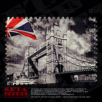 """Магнит """"Тауэрский мост"""" из серии в память о поездке в Англию, керамика."""