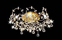 Люстра галогенная со светодиодной подсветкой , пультом 6232-16