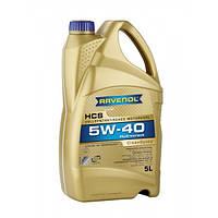 Синтетическое моторное масло RAVENOL HCS 5W-40 (5)