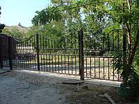 Ворота кованные в Севастополе. Изготовление кованных ворот в Севастополе и Ялте.