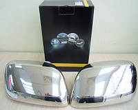 Хром накладки на зеркала на Лексус LX-570 (нерж.) OMSALINE