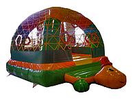 Небольшой надувной батут для улицы и помещений Тортила