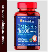 Puritans Pride Omega-3 Fish Oil 1000 мг 100 капс.