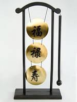 Гонг настольный Тройной
