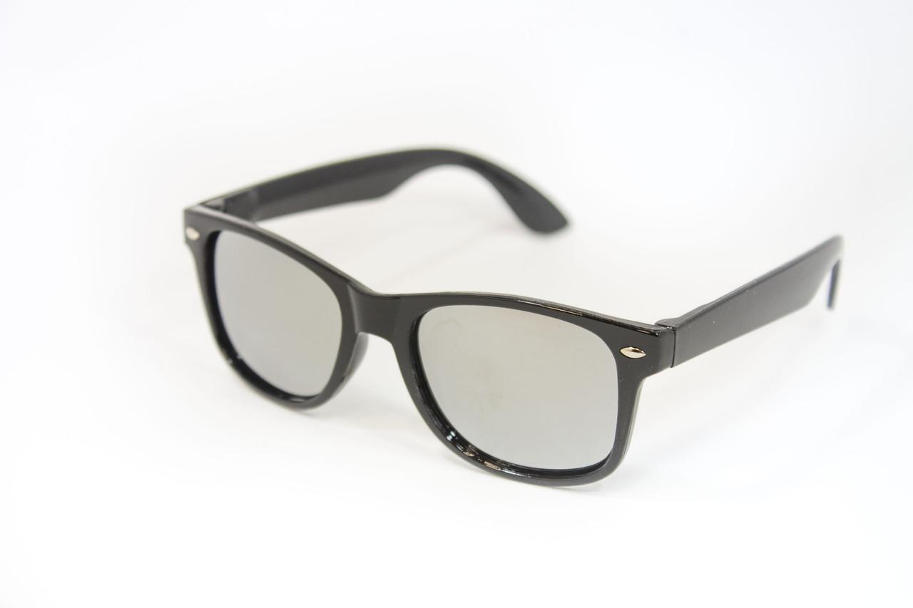Детские очки  Зеркальные Черные 3313