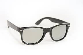 Детские очки  Зеркальные Черные 3313, фото 2
