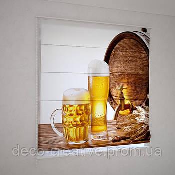 Римские фотошторы бокал хмельного пива