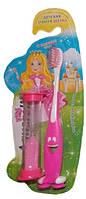 Детская зубная щетка Aquarelle с песочными часами