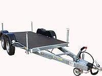 Прицеп для перевозни генератора 3,3м x 1,3м, с тормозами Knott 2,7т на обе оси!