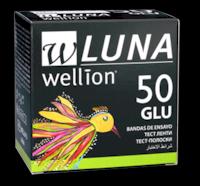Тест-полоски для тестировния уровня глюкозы  в крови Wellion® LUNA 50 шт