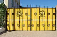 Ворота из профильного листа в Севастополе. Изготовление ворот и калиток в Севастополе и Ялте.