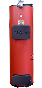 Котлы отопления на твердом топливе длительного горения SWaG 15 - котел на дровах