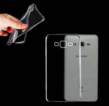 Чехол накладка силиконовый TPU Ultrathin Series 0,33mm для Samsung Galaxy Core Prime G360 прозрачный