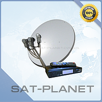 "Комплект на 3 спутника для 2-х ТВ ""Standart ECO HD2"""
