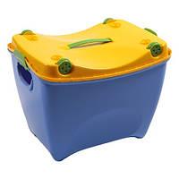 Ящик детский с колесами и сиденьем