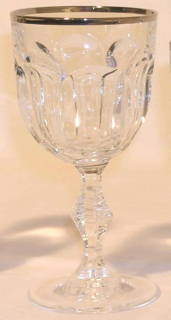 Набор бокалов для воды Provenza c платиной